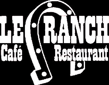 Logo blanc le ranch